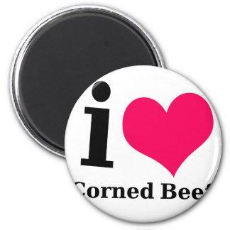 I love Corned Beef Fridge Magnets