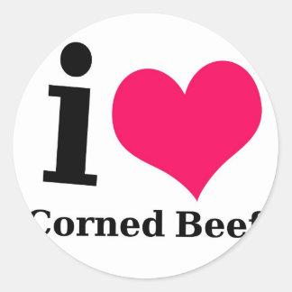 I love Corned Beef Sticker