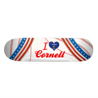 I Love Cornell, Wisconsin Skateboards