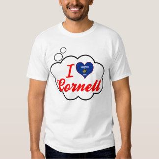 I Love Cornell, Wisconsin T-shirts