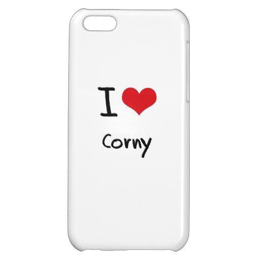 I love Corny iPhone 5C Case