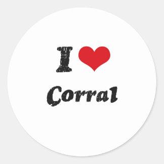I love Corral Stickers