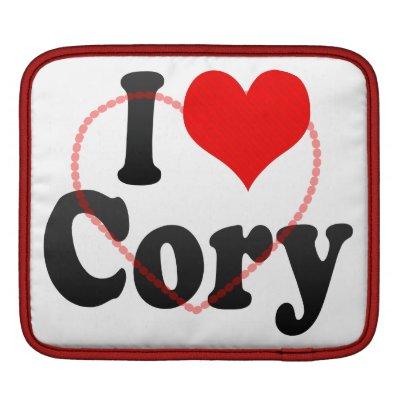 I love Cory Sleeves For iPads