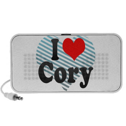 I love Cory Speakers
