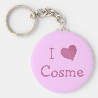 I Love Cosme Key Chains