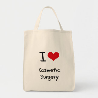 I love Cosmetic Surgery Canvas Bags