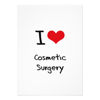 I love Cosmetic Surgery Personalized Invites