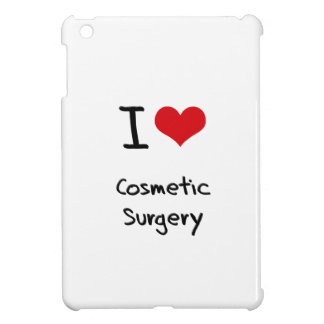 I love Cosmetic Surgery iPad Mini Cases
