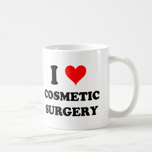 I Love Cosmetic Surgery Mug
