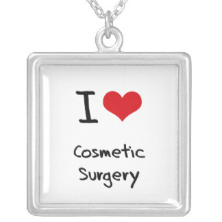 I love Cosmetic Surgery Personalized Necklace