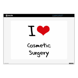 """I love Cosmetic Surgery Decals For 15"""" Laptops"""