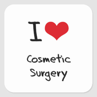 I love Cosmetic Surgery Stickers