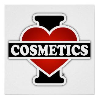 I Love Cosmetics Poster