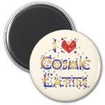 I Love Cosmic Latte Magnets