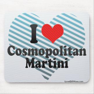 I Love Cosmopolitan+Martini Mousepad