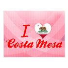 I Love Costa Mesa, California Postcard