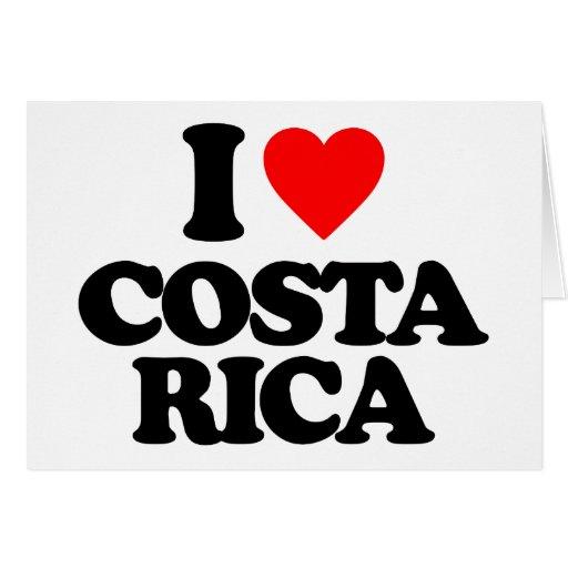 I LOVE COSTA RICA CARDS