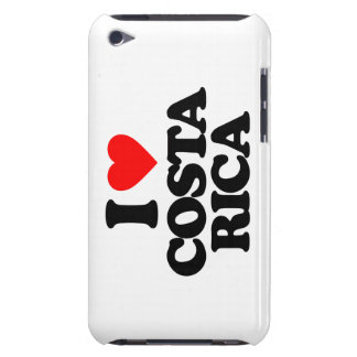 I LOVE COSTA RICA BARELY THERE iPod CASE