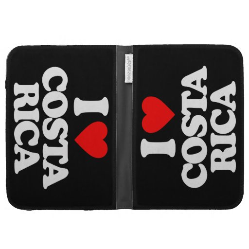 I LOVE COSTA RICA CASES FOR THE KINDLE