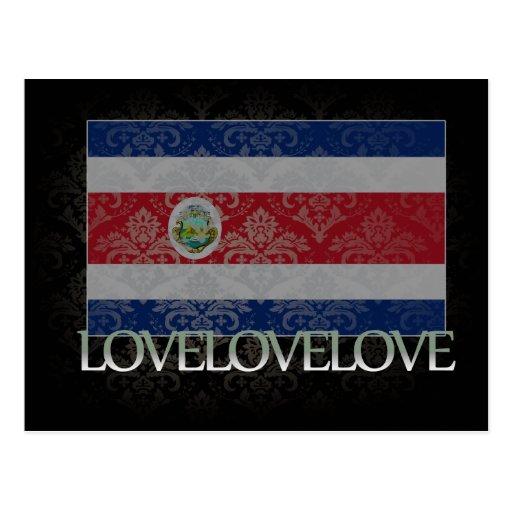 I love Costa Rica Cool Post Card