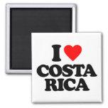 I LOVE COSTA RICA FRIDGE MAGNET
