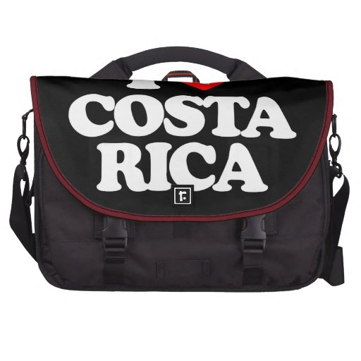I LOVE COSTA RICA LAPTOP BAG
