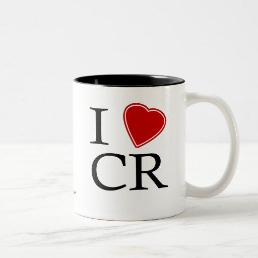 I Love Costa Rica Mugs