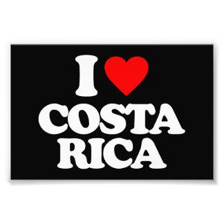 I LOVE COSTA RICA PHOTO
