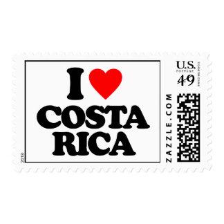 I LOVE COSTA RICA POSTAGE