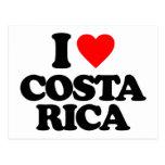 I LOVE COSTA RICA POSTCARD