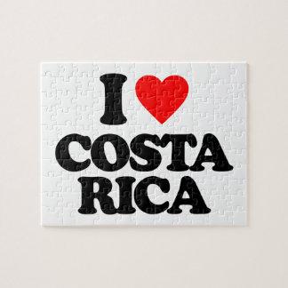I LOVE COSTA RICA PUZZLES
