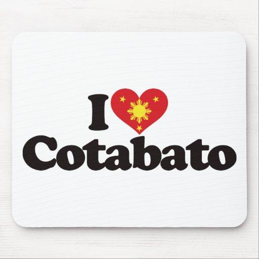 I Love Cotabato Mousepads