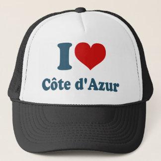 I Love Cote Azur Trucker Hat