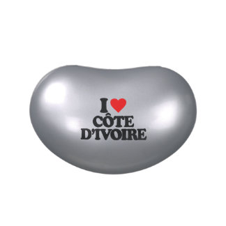 I LOVE CÔTE D IVOIRE JELLY BELLY TIN