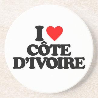 I LOVE CÔTE D IVOIRE COASTERS