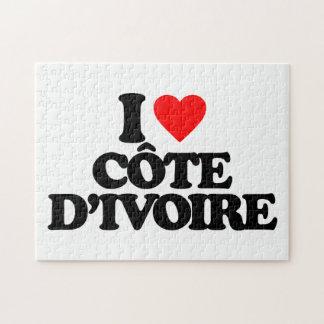 I LOVE CÔTE D IVOIRE PUZZLES