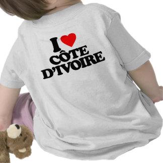 I LOVE CÔTE D'IVOIRE TEES
