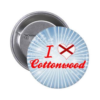 I Love Cottonwood, Alabama Button