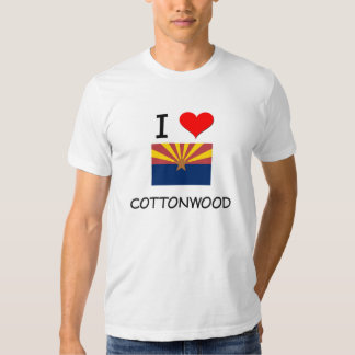 I Love COTTONWOOD Arizona Shirt