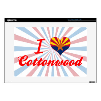 I Love Cottonwood, Arizona Laptop Skin