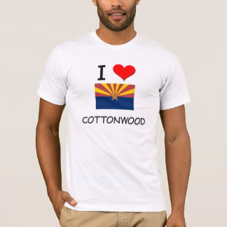 I Love COTTONWOOD Arizona T-Shirt