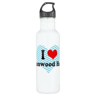I Love Cottonwood Heights, United States 24oz Water Bottle