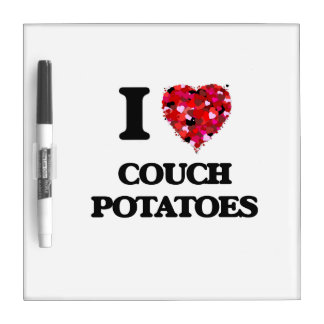 I love Couch Potatoes Dry-Erase Boards