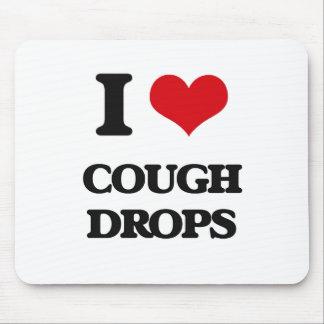 I love Cough Drops Mouse Pad