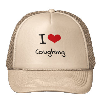 I love Coughing Trucker Hat