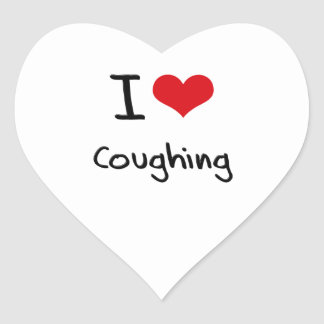 I love Coughing Sticker