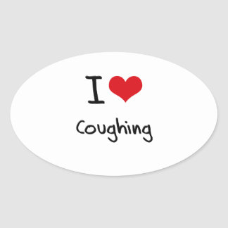 I love Coughing Stickers