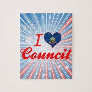 I Love Council Idaho Puzzle