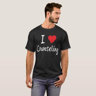 I Love Counseling Heart Social Worker T-Shirt