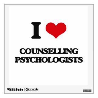 I love Counselling Psychologists Wall Skin